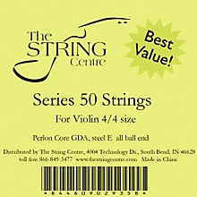 The String Centre Series 50 Violin string set 1/4 Size