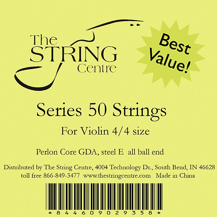 The String Centre Series 50 Violin string set 1/8 Size