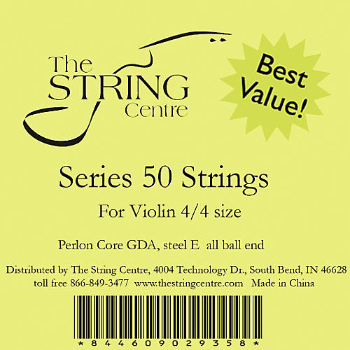 The String Centre Series 50 Violin string set-thumbnail