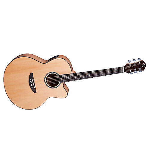 Michael Kelly Series 60 Jumbo Solid Top Cutaway Acoustic-Electric Guitar-thumbnail