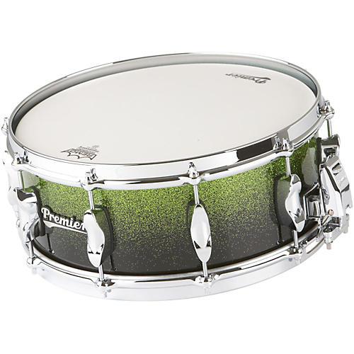 Premier Series Elite Maple Snare Drum Apple Fade Sparkle Lacquer 14x5.5