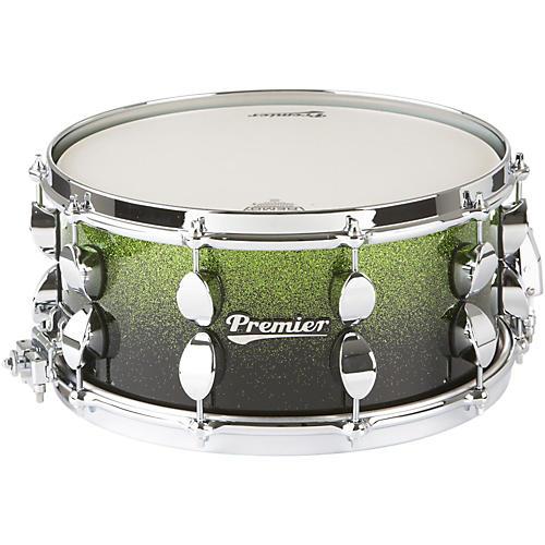 Premier Series Elite Maple Snare Drum Apple Fade Sparkle Lacquer 14x6.5