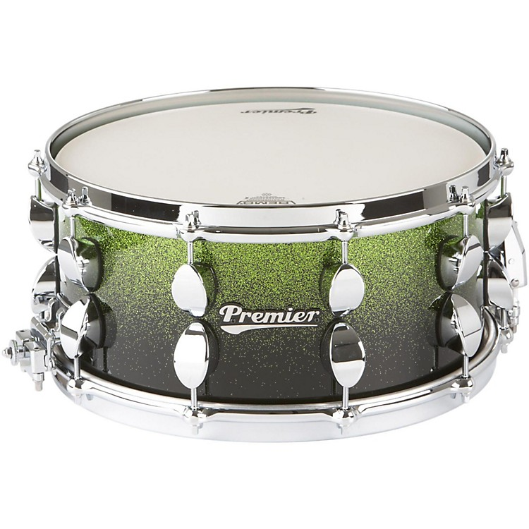 PremierSeries Elite Maple Snare DrumApple Fade Sparkle Lacquer14x6.5