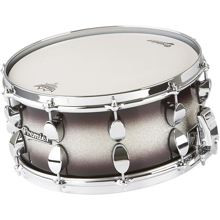 PremierSeries Elite Maple Snare DrumSilver Sparkle Burst Lacquer14x6.5