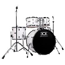 DrumCraft Series Three 5-Piece Fusion Drumset Snow White