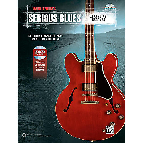 Alfred Serious Blues Expanding Grooves Book & DVD-thumbnail