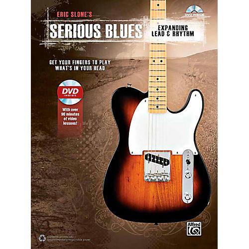 Alfred Serious Blues Expanding Lead & Rhythm Book & DVD-thumbnail