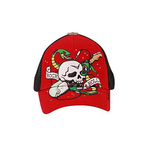 Fender Serpent Trucker Hat Red