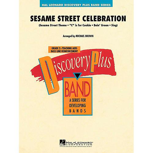 Hal Leonard Sesame Street Celebration Concert Band Level 2-thumbnail