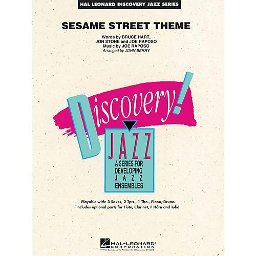 Hal Leonard Sesame Street Theme - Discovery Jazz Series Level 1.5