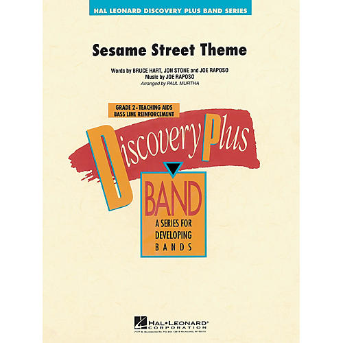 Hal Leonard Sesame Street Theme - Discovery Plus Concert Band Series Level 2 arranged by Paul Murtha-thumbnail