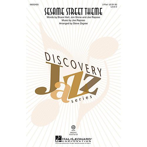 Hal Leonard Sesame Street Theme (Discovery Level 2) 2-Part arranged by Steve Zegree-thumbnail