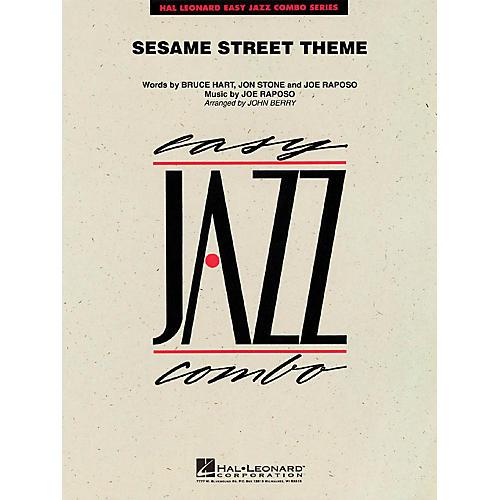 Hal Leonard Sesame Street Theme Jazz Band Level 2 Arranged by John Berry-thumbnail