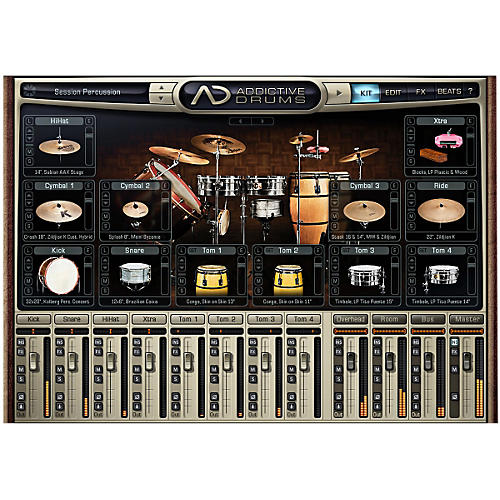 Waves Session Percussion Adpak