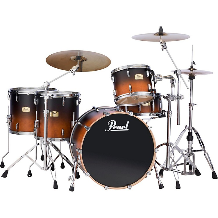Pearl session studio classic 4 piece shell pack with free for 13 inch floor tom