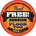 Pearl Session Studio Classic 4-Piece Shell Pack with Free 16-Inch Floor Tom  Thumbnail
