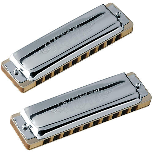 SEYDEL Set of  7 - Blues 1847 CLASSIC Harmonicas and Softcase-thumbnail