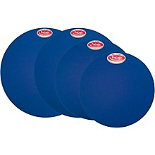 ProLogix Percussion Set of Drum Mutes 10, 12, 14, 14 in. Blue Lightning Series