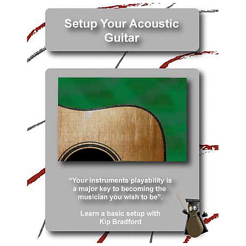 Great Nutshell Productions Setup Your Acoustic Guitar (DVD)