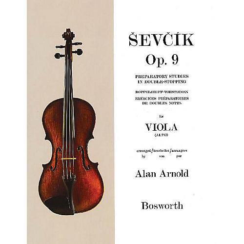 Bosworth Sevcik for Viola - Opus 9 Music Sales America Series Softcover Written by Otakar Sevcik-thumbnail