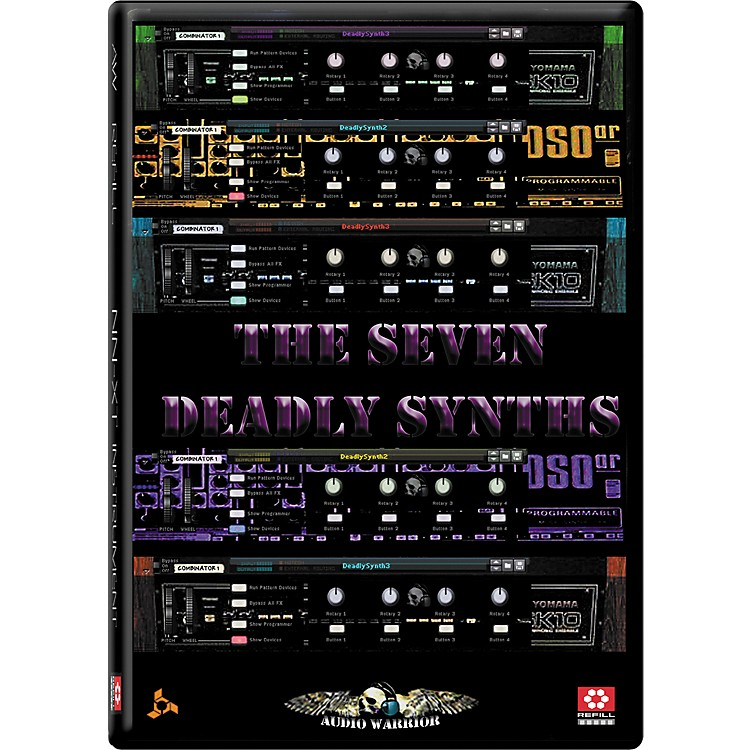 AudioWarrior Seven Deadly Synths Reason Refill