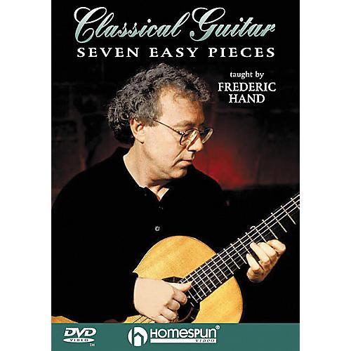 Homespun Seven Easy Pieces for Classical Guitar (DVD)