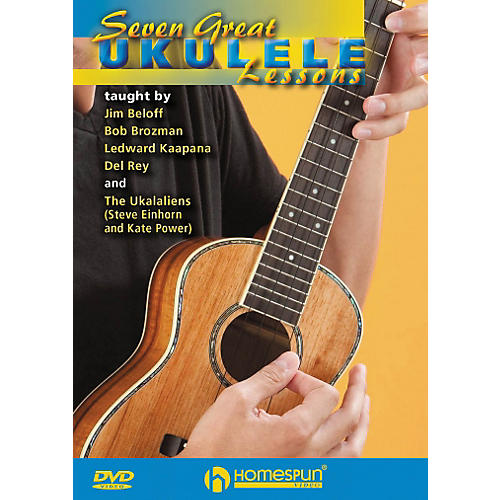 Homespun Seven Great Ukulele Lessons DVD
