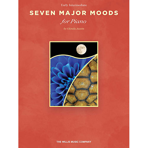 Willis Music Seven Major Moods (Early Inter Level) Willis Series Book by Glenda Austin-thumbnail