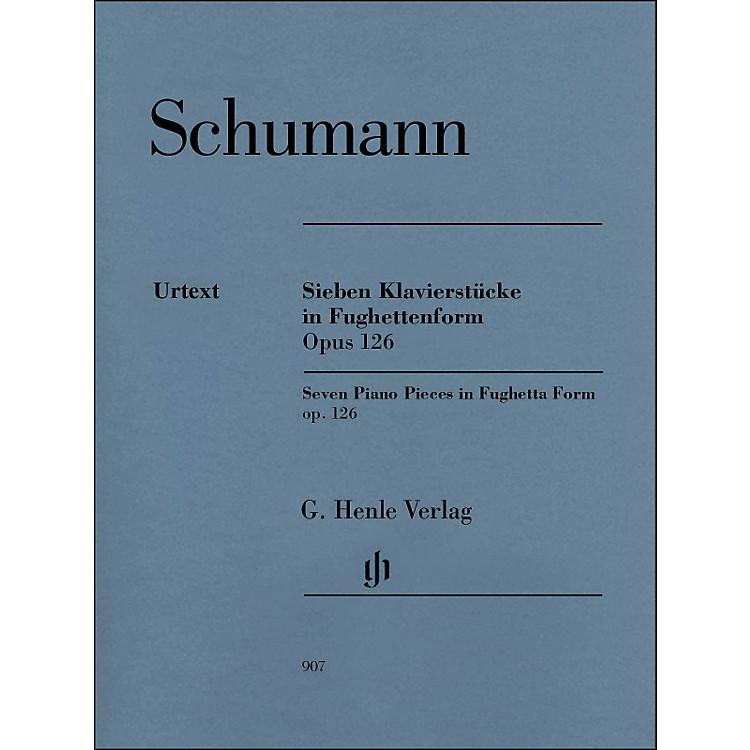G. Henle VerlagSeven Piano Pieces In Fughetta form Op. 126 By Schumann / Herttrich