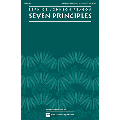 TRO ESSEX Music Group Seven Principles 3-PT by Sweet Honey In The Rock composed by Bernice Johnson Reagon-thumbnail