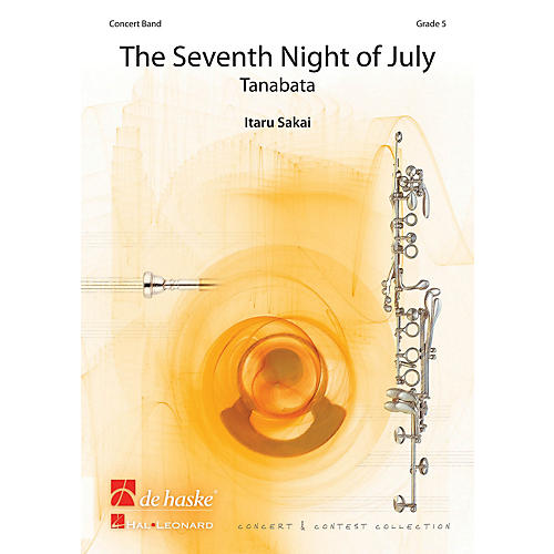 Hal Leonard Seventh Night Of July, The Score Only Concert Band-thumbnail
