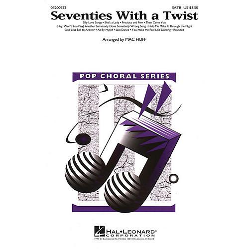 Hal Leonard Seventies with a Twist (Medley) SATB arranged by Mac Huff