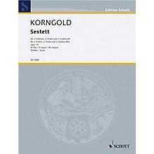 Schott Sextet D Major Op. 10 (Study Score) Schott Series Composed by Erich Wolfgang Korngold