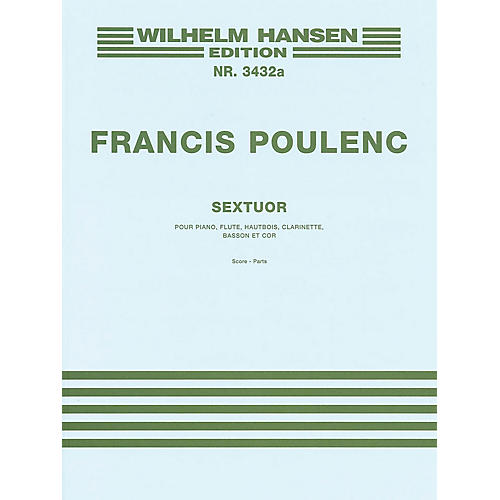Music Sales Sextet Music Sales America Series by Francis Poulenc