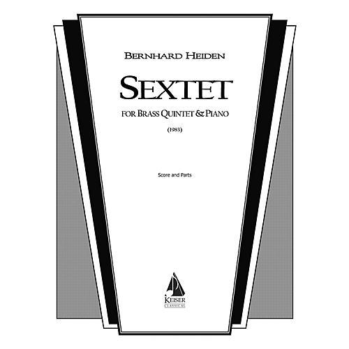Lauren Keiser Music Publishing Sextet (for Brass Quintet and Piano) LKM Music Series by Bernhard Heiden-thumbnail
