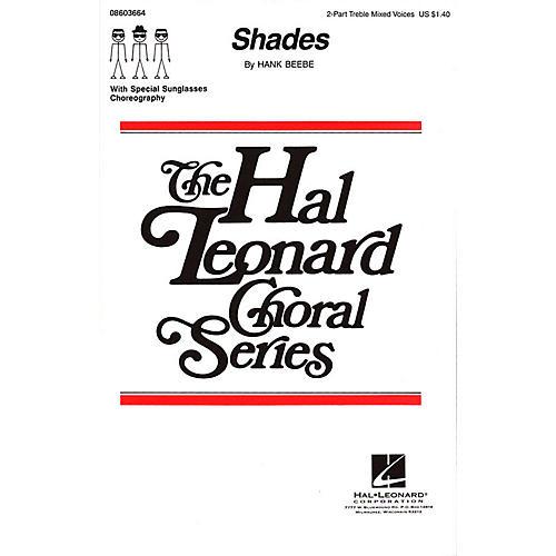 Hal Leonard Shades 2-Part composed by Hank Beebe-thumbnail