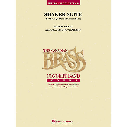 Canadian Brass Shaker Suite (for Brass Quintet and Concert Band) Concert Band Level 5 Arranged by Rayburn Wright-thumbnail