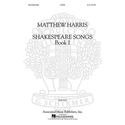 G. Schirmer Shakespeare Songs, Book I SATB a cappella composed by Matthew Harris-thumbnail