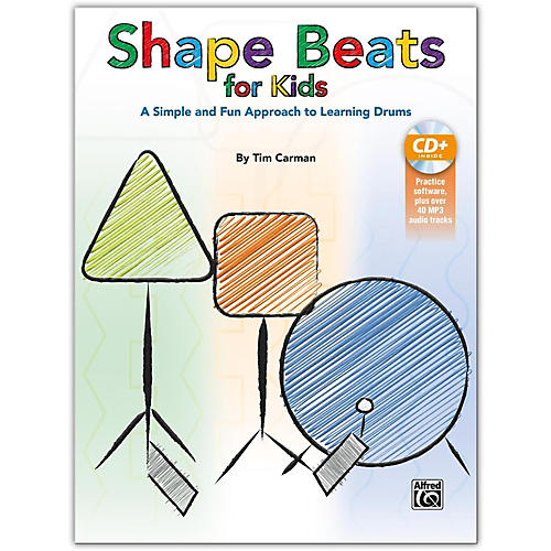 Alfred Shape Beats for Kids Book & CD-thumbnail
