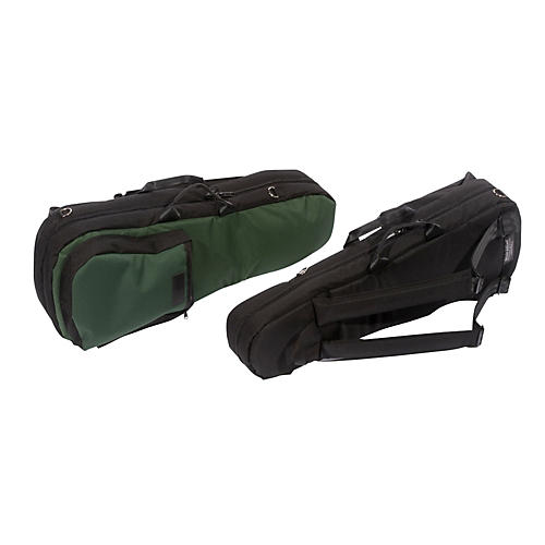 Mooradian Shaped Viola Case Slip-On Cover Black with Shoulder Strap