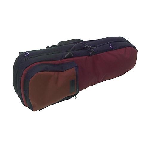 Mooradian Shaped Viola Case Slip-On Cover Burgundy with Shoulder Strap
