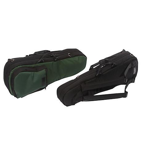Mooradian Shaped Viola Case Slip-On Cover Green with Shoulder Strap
