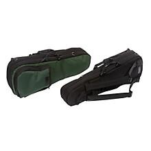 Mooradian Shaped Violin Case Slip-On Cover Green with Shoulder Strap