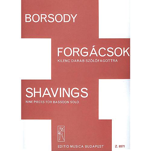 Editio Musica Budapest Shavings EMB Series-thumbnail