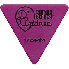 D'Andrea Shell Celluloid 355 Triangle Picks - One Dozen