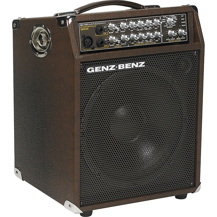 Genz BenzShenandoah Compak 300 SHEN-CPK-10T 300W 1x10 Acoustic Guitar Combo Amp