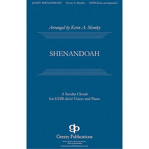 Gentry Publications Shenandoah SATB Divisi arranged by Kevin Memley-thumbnail