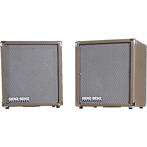 Genz Benz Shenandoah SHEN-200-EXT-L/R Matched Pair 1x10 Stereo Guitar Extension Cabinets-thumbnail