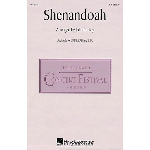 Hal Leonard Shenandoah SSA Arranged by John Purifoy-thumbnail