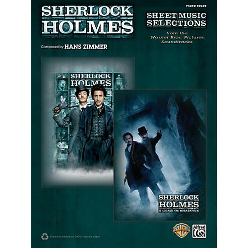 Alfred Sherlock Holmes Sheet Music Selections Advanced Piano Solos Book